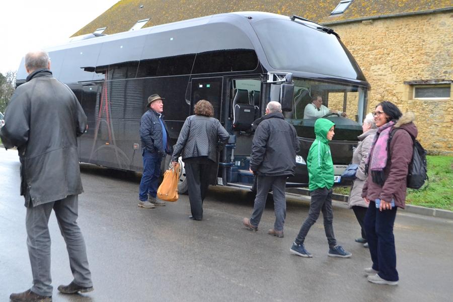 Retour en bus