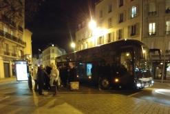 Retour à Asnières vers 20h