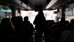 Départ en bus