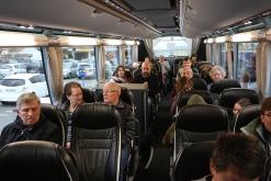 Trajet dans le bus